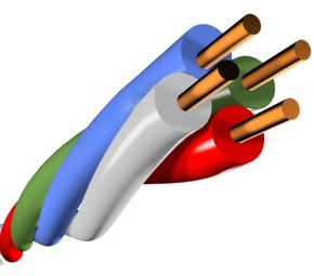 SyncWire ПКСВ 4х0,5 провод