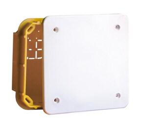 ДКС Коробка ответвительная прямоуг. для твердых стен, IP40, 92х92х45мм
