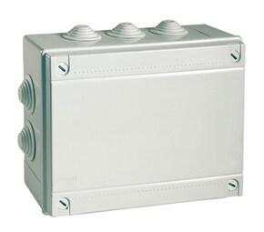 ДКС Коробка ответвит. с кабельными вводами, IP55, 100х100х50мм
