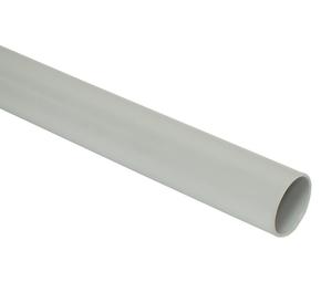 ДКС Труба ПВХ жёсткая гладкая д.25мм, лёгкая, 3м, цвет серый