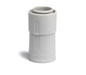 ДКС Переходник армированная труба-жесткая труба, IP67, д.40мм